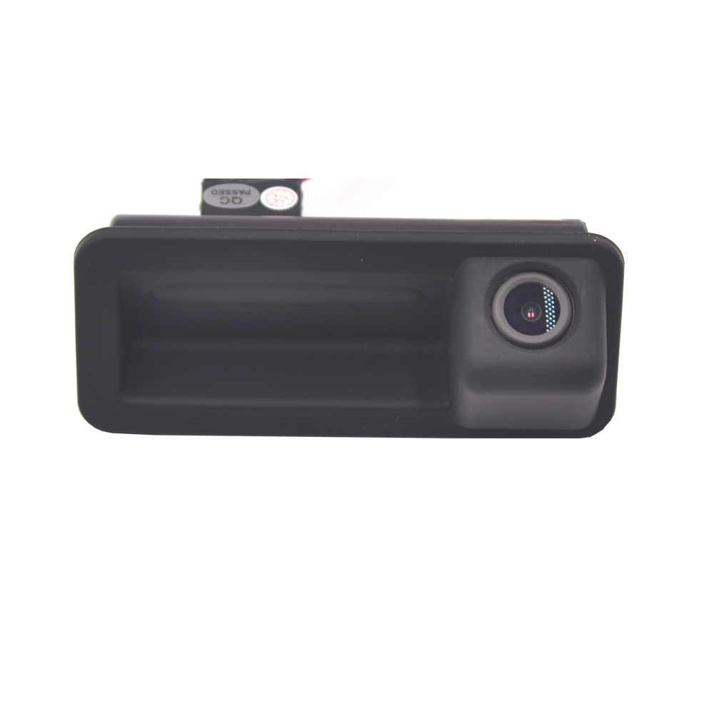 HD 1280x720p Rear View Camera 170/° Night Vision Waterproof Rear View Camera Reversing Light Number Plate Camera for Subaru Forester Impreza Three Boxes Saab 93